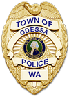Odessa WA Police Department Shield