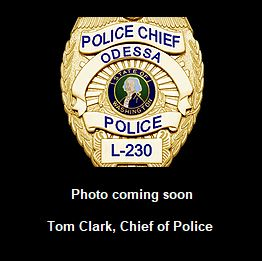 Odessa Police Chief - Photo Coming Soon